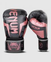 Boxerské rukavice Elite black/pink gold VENUM