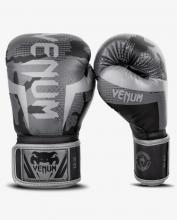 Boxerské rukavice Elite black/dark camo VENUM