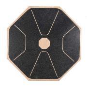 Balanční deska dřevěná YATE - osmiúhelník