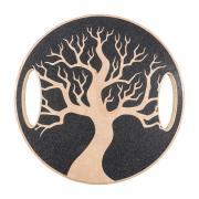 Balanční deska dřevěná YATE - motiv stromu